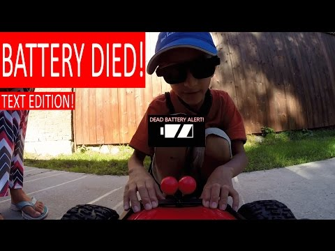 "KID HELPS ""HENRY THE RC CAR"" WITH DEAD BATTERY!"
