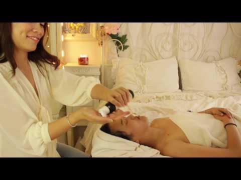 ASMR Face & Décolleté Massage for Sleep w/ Luxurious Face Brushing