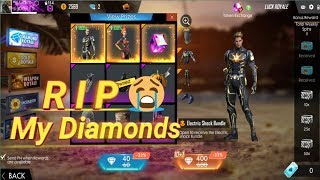 Omg Rip My Diamonds -  How To Waste Your Diamonds In Garena Free Fire