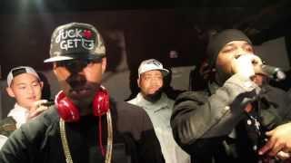 DJ WHOO KID rocks ASAP FERG BIRTHDAY with the NY JETS  AT JROSE SUNDAYS at WIP NYC!