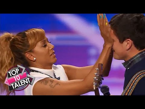 TOP 10 NICEST Judges Moments Ever On Got Talent, X Factor And Idol!