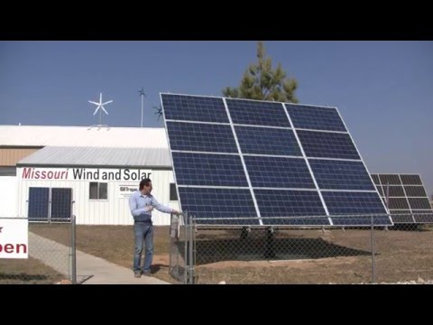 Missouri Wind and Solar Reviews Solar Time Tracker demonstration