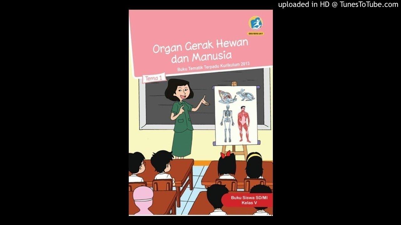 SD5  Tema1  Organ Gerak Manusia dan Hewan upload  YouTube