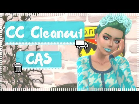 The Sims 4 ❤ CC Cleanout #1 - CAS
