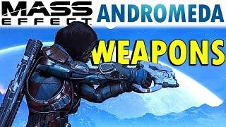 Weapons of Mass Effect Andromeda | Gun Types, Alien Tech, Mods, Rarities, & MORE!