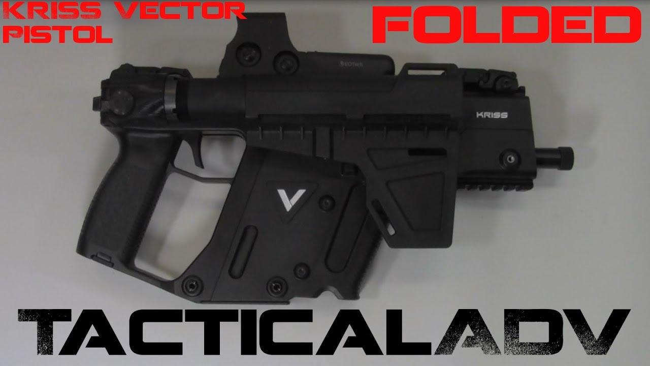 Kriss Vector Gen2 45ACP Pistol FOLDER!