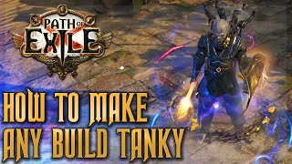 How to make aฑy build tanky and stop dying in PoE   Path of Exile Delirium