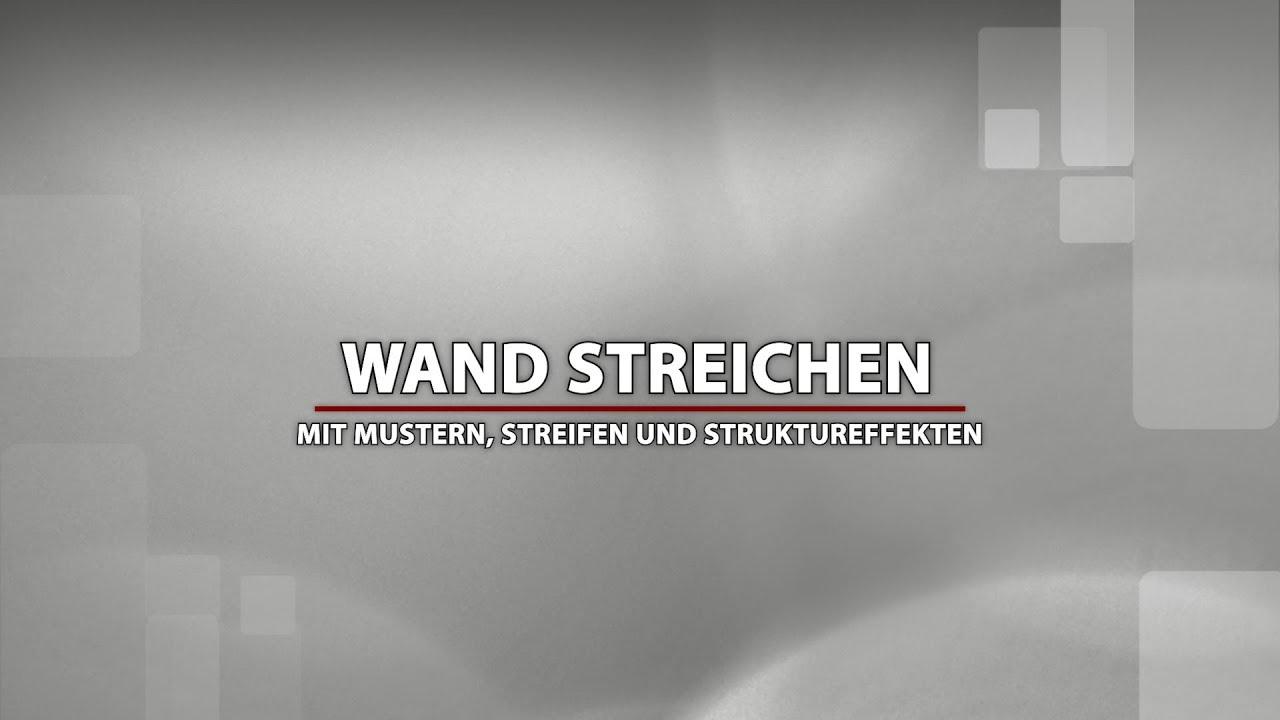 Wand Stellenweise Streichen : wand streichen ideen f r coole muster und diy struktureffekte youtube ~ Watch28wear.com Haus und Dekorationen