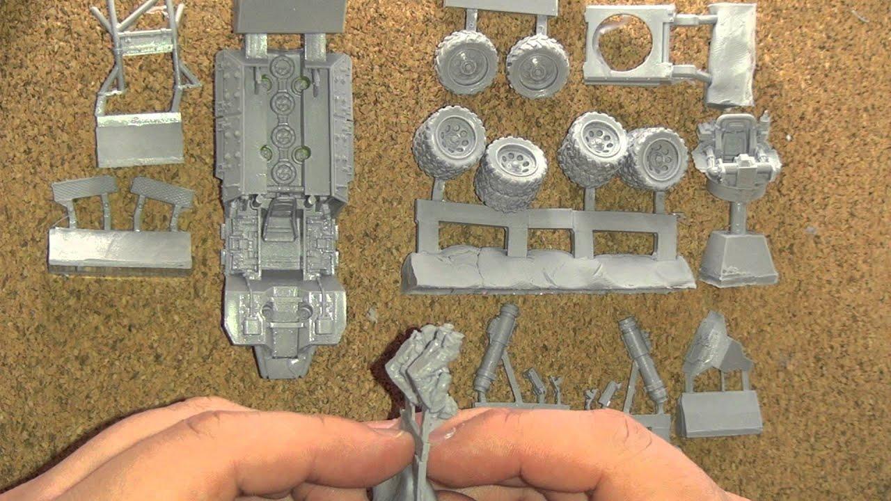 Forgeworld Product Review - Elysian Tauros Venator