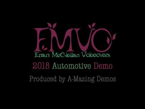 Fran McClellan Female Voice Over TalentNew Automotive Demo   YAY!!