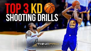 Top 3 - easy kevin durant shooting drills (basketball shooting drills to score on any defender)