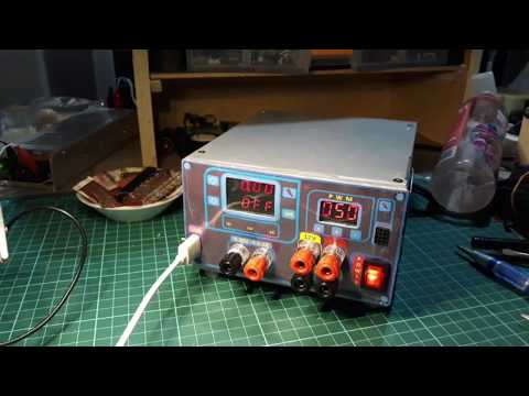 How to make dp30v5a-l power supply & 2 channel pwm module