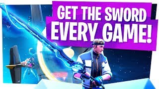 Get the Infinity Sword EVERY Game in Fortnite!