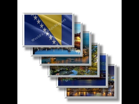 BA - Bosnia and Herzegovina Travel and magnet