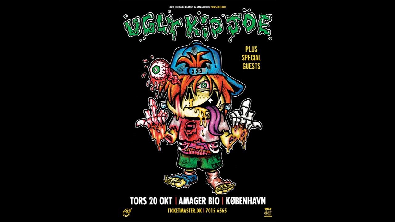 Ugly Kid Joe - Live in Copenhagen 2016 (Full Concert)