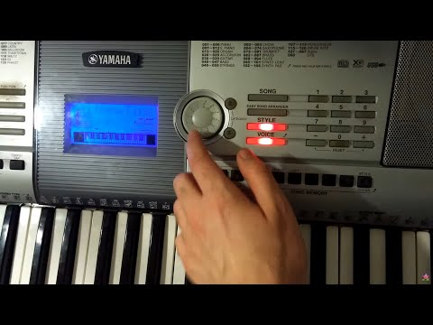 yamaha psr 295 voices musical instruments youtube. Black Bedroom Furniture Sets. Home Design Ideas