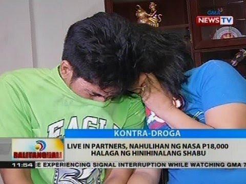 Live in partners, nahulihan ng nasa P18,000 halaga ng hinihinalang shabu