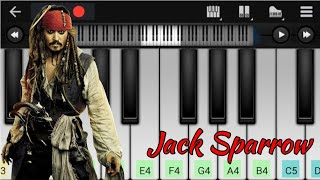 Pirates Of The Caribbean Theme | Jack Sparrow BGM | Easy Piano Tutorial | Perfect Piano