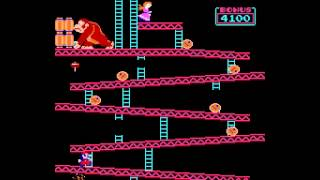 Donkey Kong (US set 1) - Vizzed.com Play - User video