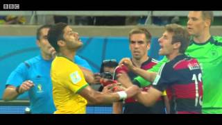 BBC FIFA World Cup 2014 montage, Brazil 1-7 Germany