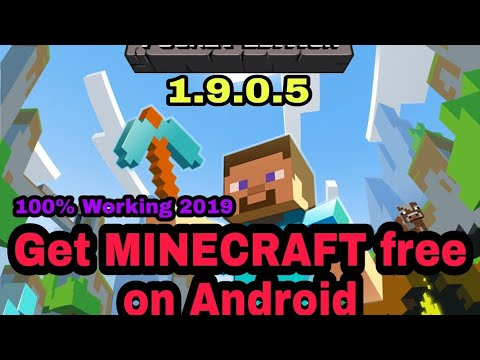 MINECRAFT POCKET EDITION APK 1.9.0.5 100% WORKING FREE DOWNLOAD FOR ANDROID