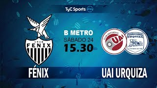 CA Fenix vs CD UAI Urquiza full match