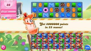 Candy Crush Saga 4993 First Try Gold Level