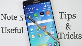 Samsung Galaxy Note 5 Useful Tips & Tricks