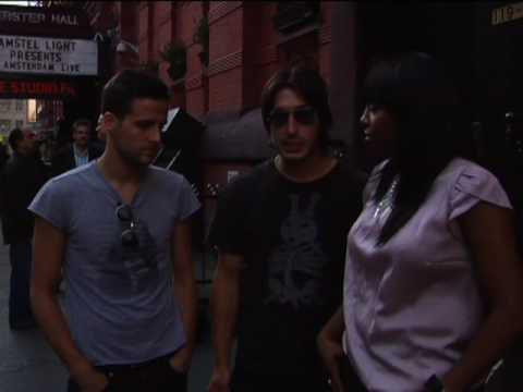 YRB Magazine @ Webster Hall - The Bravery interview