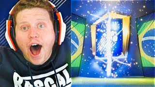 OMG THE BEST 100K TOTY PACKS in FIFA 18 Ultimate Team
