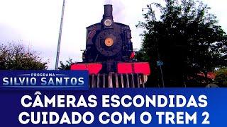 Cuidado com o Trem 2   Câmeras Escondidas (04/11/18)