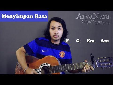 Chord Gampang (Menyimpan Rasa - Devano) by Arya Nara (Tutorial Gitar) Untuk Pemula