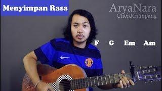 Gambar cover Chord Gampang (Menyimpan Rasa - Devano) by Arya Nara (Tutorial Gitar) Untuk Pemula