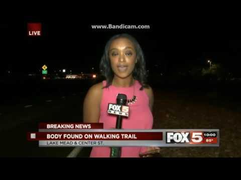 KVVU Fox 5 News at 10pm Sunday breaking news open May 21, 2017