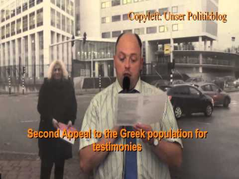 Second Appeal to the Greek population for testimonies (subtitles cc Greek)