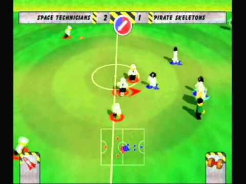 Lego Soccer/Football Mania PS2 Gameplay