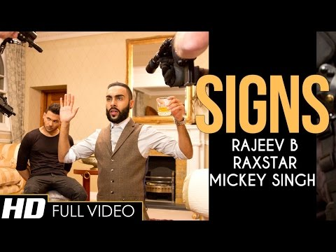 Thumbnail: SIGNS | Raxstar | Mickey Singh | Music by Rajeev B | Official Video | E3UK Records