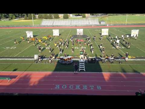 2016 Raritan High School Marching Band Reveal - Distorted from Circue du Soleil