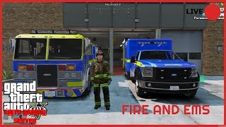 🚨FIRE AND EMS GTA 5 RP🚨KUFFS GAMING SERVER !!!
