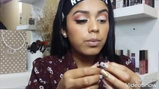 PEACH MAKE UP🍑/ Maquillaje en tonos Durazno 🍑