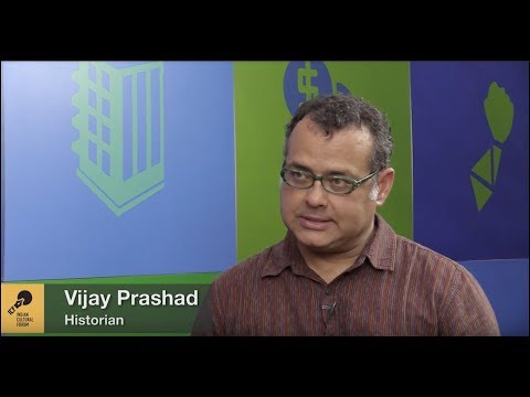 Neoliberalism and Culture | Vijay Prashad in conversation with Sruti M.D.