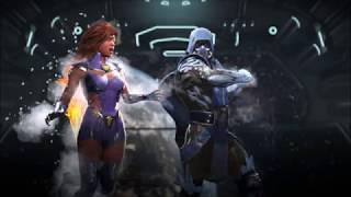 Injustice 2 Starfire V Sub Zero