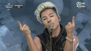 Repeat youtube video TAEYANG -'새벽한시(1AM)' 0612 M COUNTDOWN