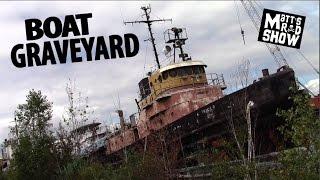 ABANDONED - Boat Graveyard - Ghost Ships - Matt