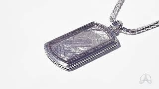 Meteorite Pendant   Autobahnlife Jewelry