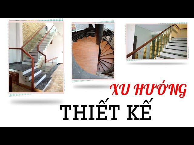 Xu hướng thiết kế cầu thang hút tài lộc may mắn tại Hà Nội
