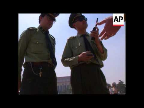 China - Tiananmen Square Anniversary & Security