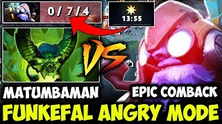 When Matumbaman Meets Best Tinker - Funkefal Rage Mode And Epic Comeback OMG Dota 2