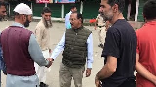 Watch NSA Ajit Doval interacts with locals in Jammu and Kashmir& 39 s Shopian