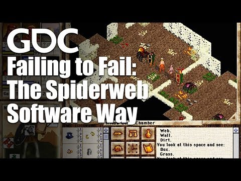 Failing To Fail: The Spiderweb Software Way